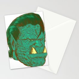 Orcabilly  Stationery Cards