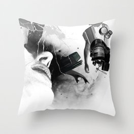 Expulsion Throw Pillow