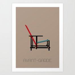 Avant-Garde Art Print