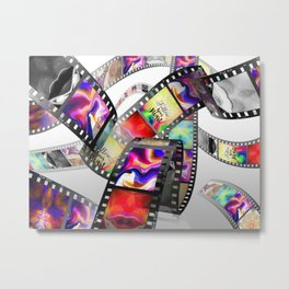 """Follow Your Heart"" Film Design Metal Print"