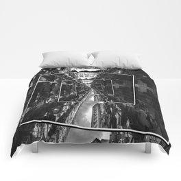 Spinning City Comforters
