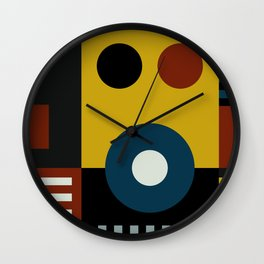 SPEECH AT THE BAUHAUS Wall Clock