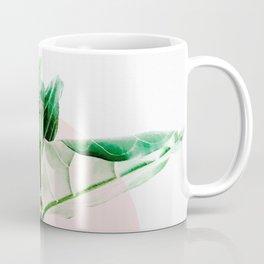 Fiddle leaf - pink pot II Coffee Mug