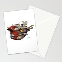 Fighter Plane Concept Stationery Cards