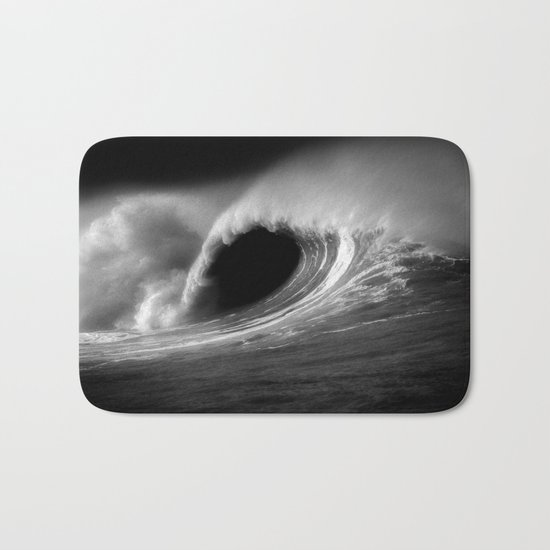 More Fun With Big Waves Bath Mat