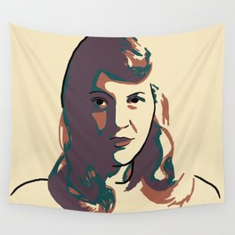 Sylvia Plath Wall Tapestry