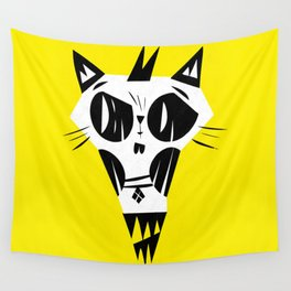 Evil cat Wall Tapestry