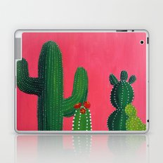 Pink cactus Laptop & iPad Skin