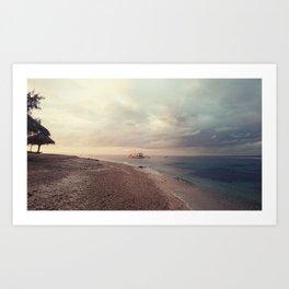 oh, Sea, how I love thee Art Print