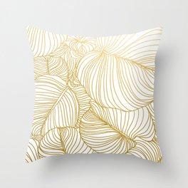 Wilderness Gold Throw Pillow