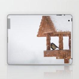 Parus Major bird Laptop & iPad Skin