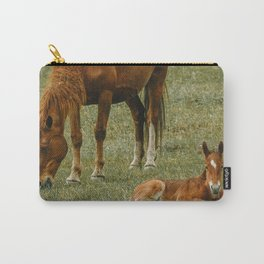 Horse And Foal Carry-All Pouch