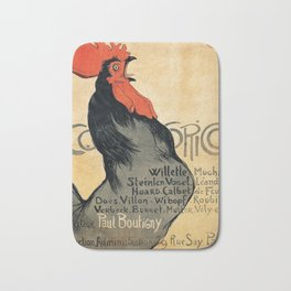 Vintage poster - Cocorico Bath Mat