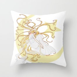 Sleeping Princess Throw Pillow