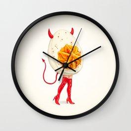 Deviled Egg Pin-Up Wall Clock