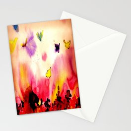butterfly dreams Stationery Cards