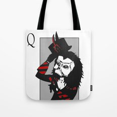 Courting the Crimson Queen  Tote Bag