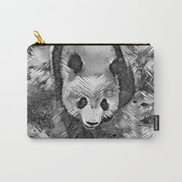 AnimalArtBW_Panda_20170704_by_JAMColorsSpecial Carry-All Pouch