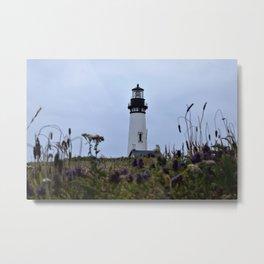 Yaquina Lighthouse Metal Print