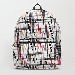 Stylish geometry. Backpack