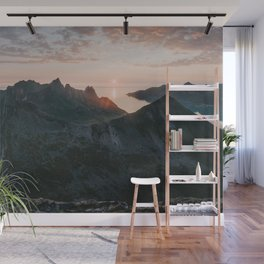 Midnight hike - Landscape and Nature Photography Wall Mural
