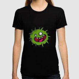 Green Crazy Germ T-shirt