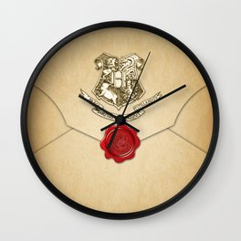 HARRY POTTER ENVELOPE Wall Clock