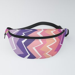 80s Zigzag 2 Fanny Pack