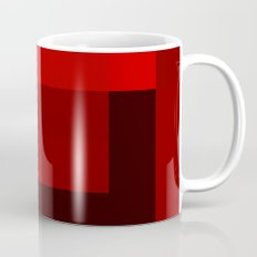 shades of red abstract Mug