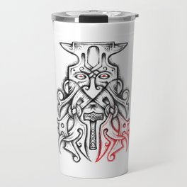 Coal-Dread Anvil Head Travel Mug