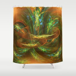 The playground in my mind Shower Curtain
