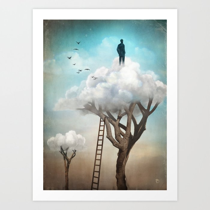 Discover the motif THE GREAT ESCAPE by Christian Schloe as a print at TOPPOSTER