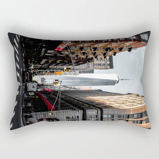 Lower Manhattan One WTC Rectangular Pillow