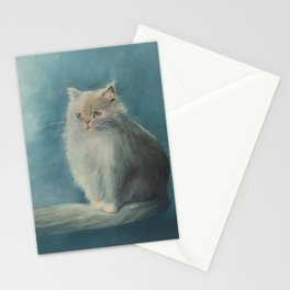 Fluffy Persian Cat Stationery Cards