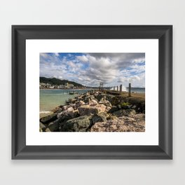 Aguadila coast 3 Framed Art Print