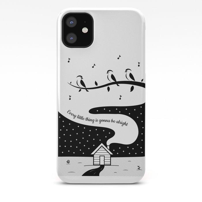 Three Little Birds iphone 11 case