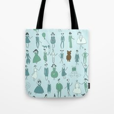 Happy Town Tote Bag