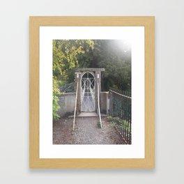 Secret Gate Framed Art Print