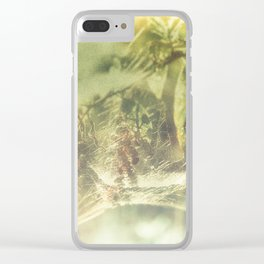 Tela Aranearum Clear iPhone Case