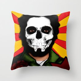 Calavera & Revolucion  Throw Pillow