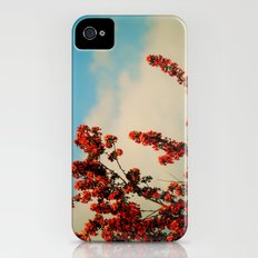 pink flowers iPhone (4, 4s) Slim Case