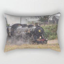 Train In Dungeness Kent Rectangular Pillow