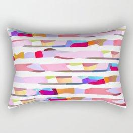 Waves of Noise ~ Pink Rectangular Pillow