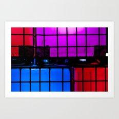 Light up Blocks Art Print