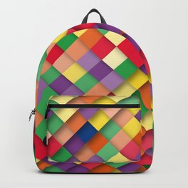 autumn rectangles Backpack