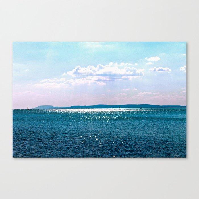 lake balaton Canvas Print