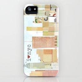 I love NYC iPhone Case