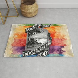 The Apple iVolution Rug