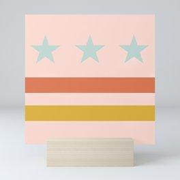 Washington DC Flag Mini Art Print