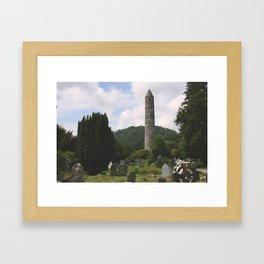 The Roundtower Framed Art Print